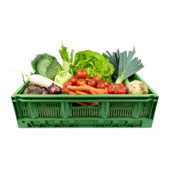 Gemüse sehr groß